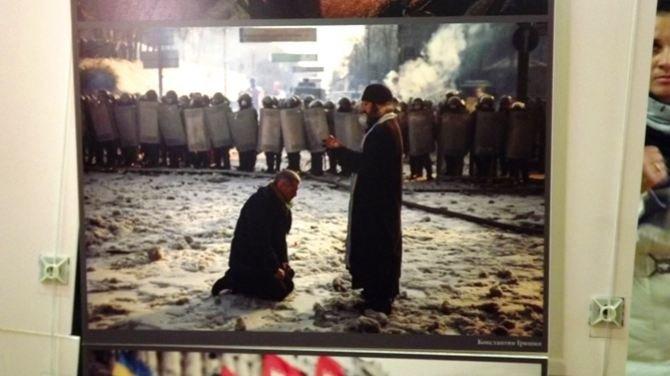 Луганчанам показали фотовыставку про Майдан (ФОТО), фото-4
