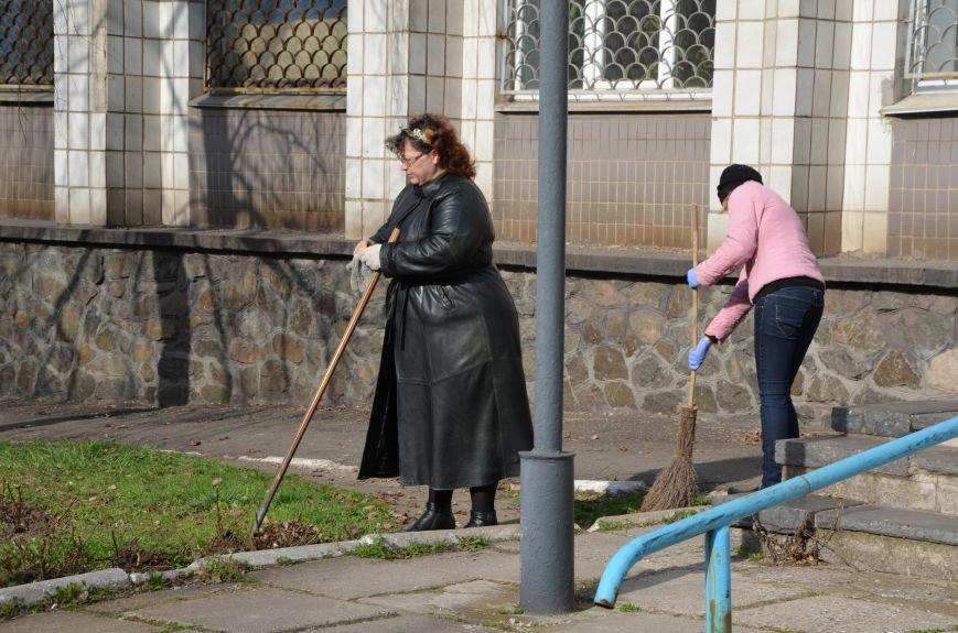 Мариупольцы вышли на общегородской субботник (ФОТО), фото-9