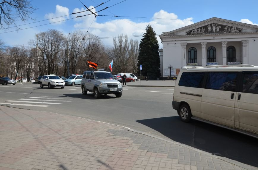 Мариупольцы устроили автопробег дружбы с Россией (ФОТО), фото-14