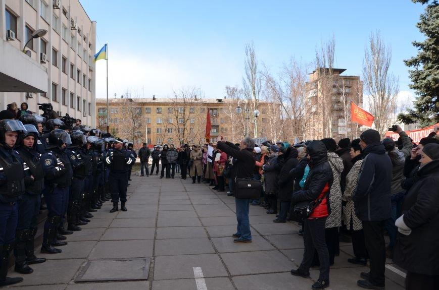 В Мариуполе стартовал митинг за референдум (ФОТО+Дополнено), фото-17
