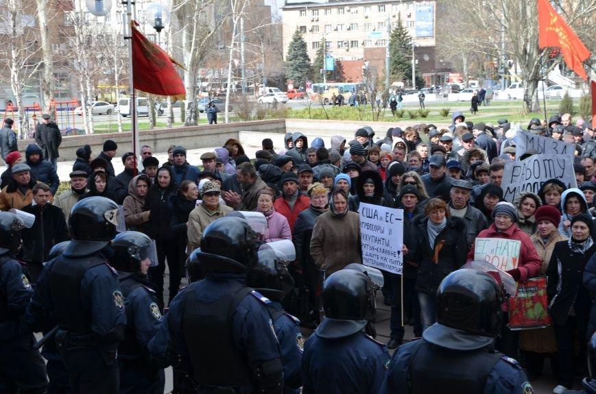 В Мариуполе стартовал митинг за референдум (ФОТО+Дополнено), фото-7