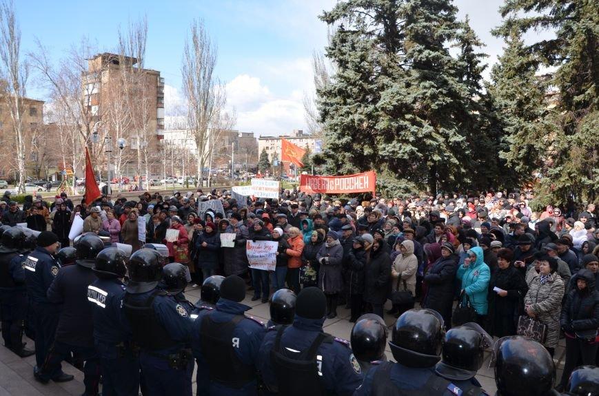 В Мариуполе стартовал митинг за референдум (ФОТО+Дополнено), фото-9