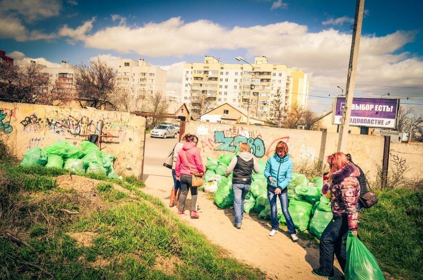 Симферополь в выходной день убирали студенты (ФОТО), фото-6