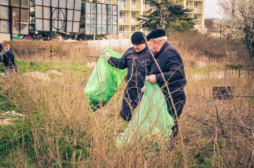 Симферополь в выходной день убирали студенты (ФОТО), фото-5