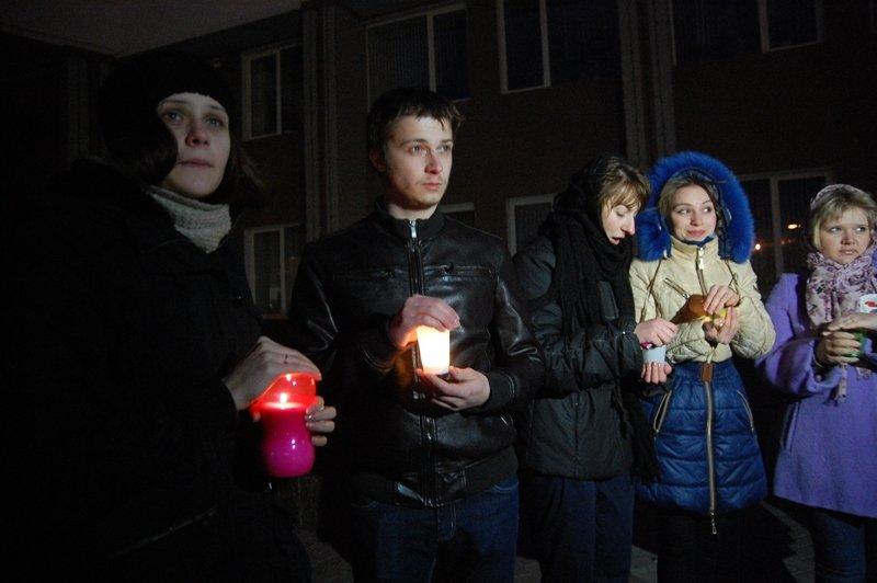 В Белгороде акцию «Час Земли»  рекламировали телевышка, общежитие и здание университета (фото) - фото 3