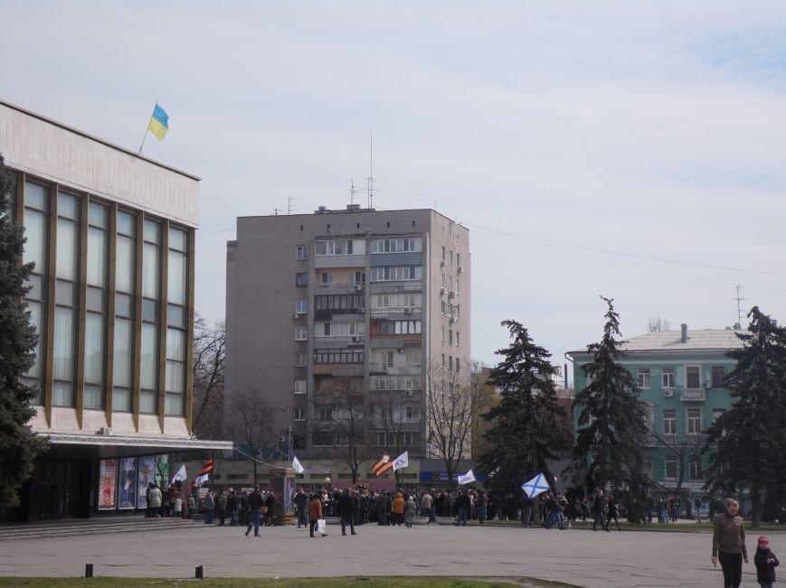 В Днепропетровске митинговали за референдум и почтили память погибших на Майдане (ФОТОРЕПОРТАЖ), фото-1