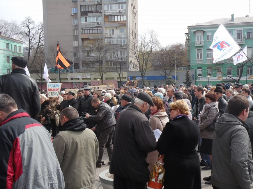 В Днепропетровске митинговали за референдум и почтили память погибших на Майдане (ФОТОРЕПОРТАЖ), фото-3