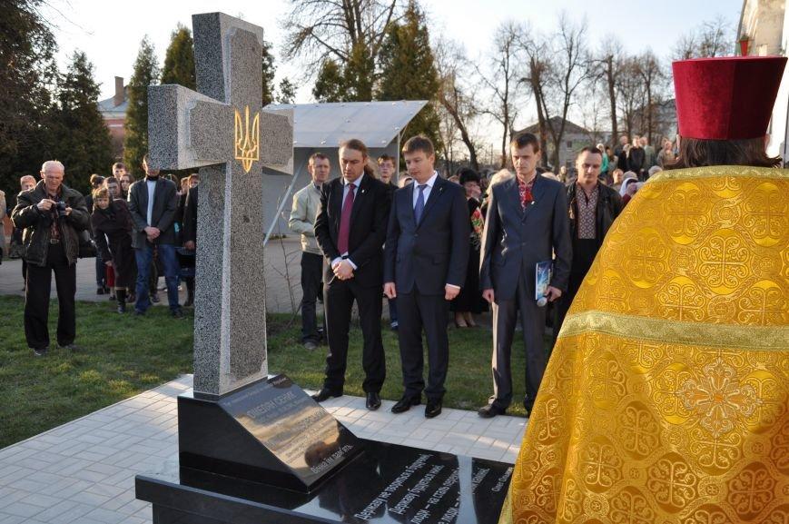 У Житомирі відкрили пам'ятний знак на могилі фундаторів ОУН, фото-2