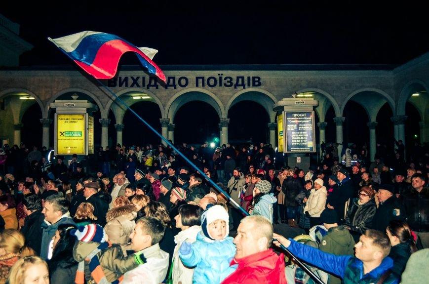 В Симферополе отпраздновали переход на московское время (ФОТО, ВИДЕО), фото-6