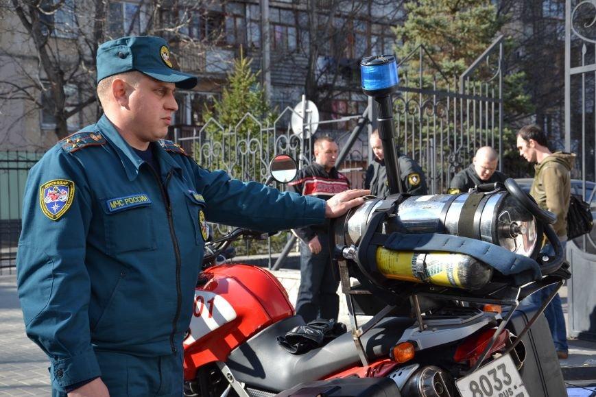 Крымские спасатели будут ездить на мотоциклах (ФОТО), фото-2