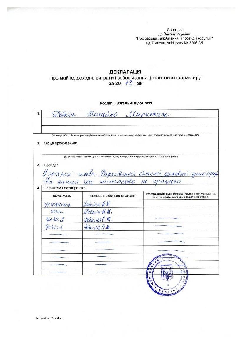 Декларация кандидата в президенты Добкина: 21 миллион заработка, 3 внедорожника и маленькая квартира (ДОКУМЕНТ), фото-1