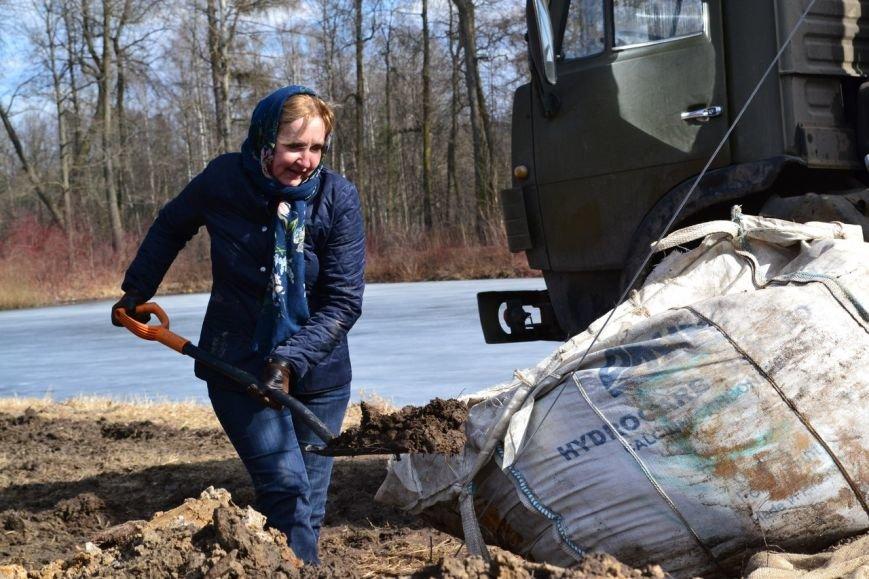 Патриарх, посадка дуба, Павловский парк, 1 апреля