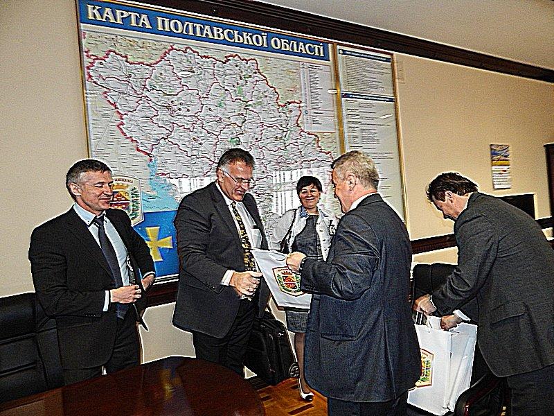 Німецькому делегату сподобалося, що губернатор Полтавщини – за спеціальністю енергетик, фото-4