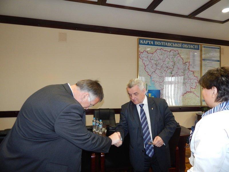 Німецькому делегату сподобалося, що губернатор Полтавщини – за спеціальністю енергетик, фото-1