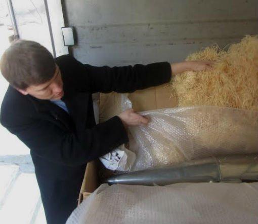 В гродненскую кирху сегодня прибыл орган из Германии (фото), фото-4
