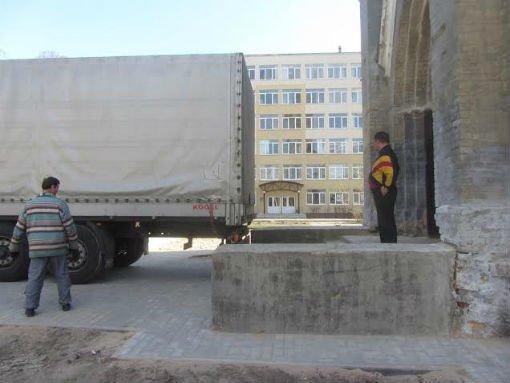 В гродненскую кирху сегодня прибыл орган из Германии (фото), фото-2