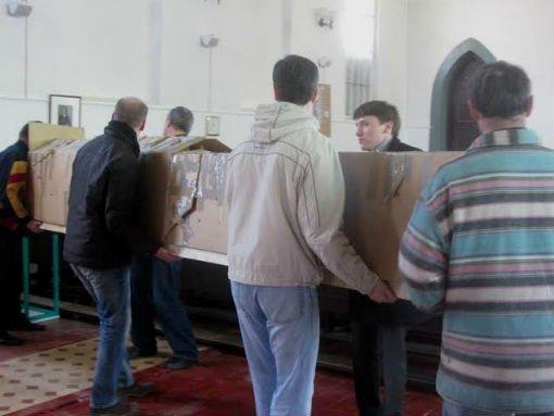 В гродненскую кирху сегодня прибыл орган из Германии (фото), фото-7