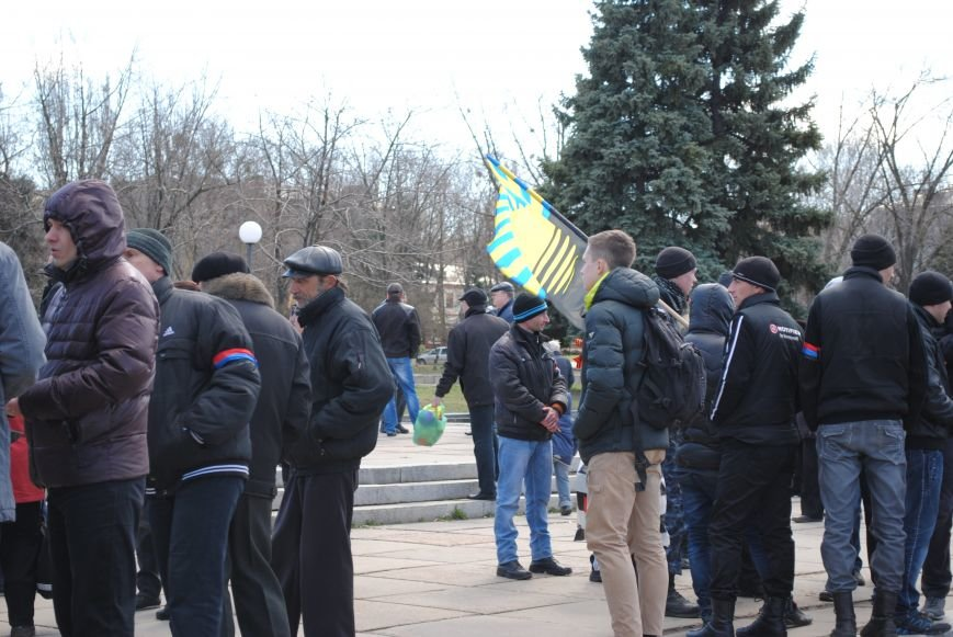 Митинг на центральной площади Краматорска, фото-1