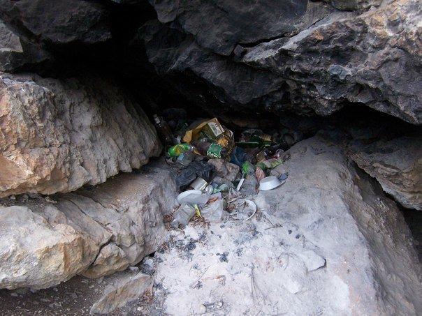 каньйон пещера