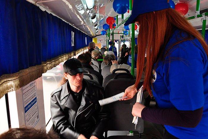 По Белгороду несколько часов ездил бесплатный троллейбус, фото-6