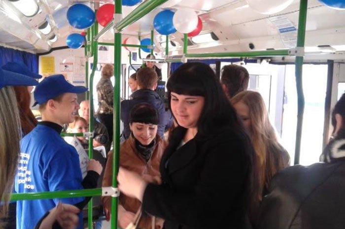 По Белгороду несколько часов ездил бесплатный троллейбус, фото-2
