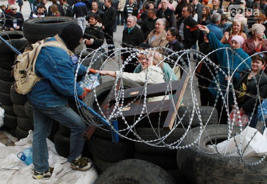 «Донецкая народная республика» установила свой пограничный столб и признала независимость Крыма (ФОТО, ВИДЕО), фото-1