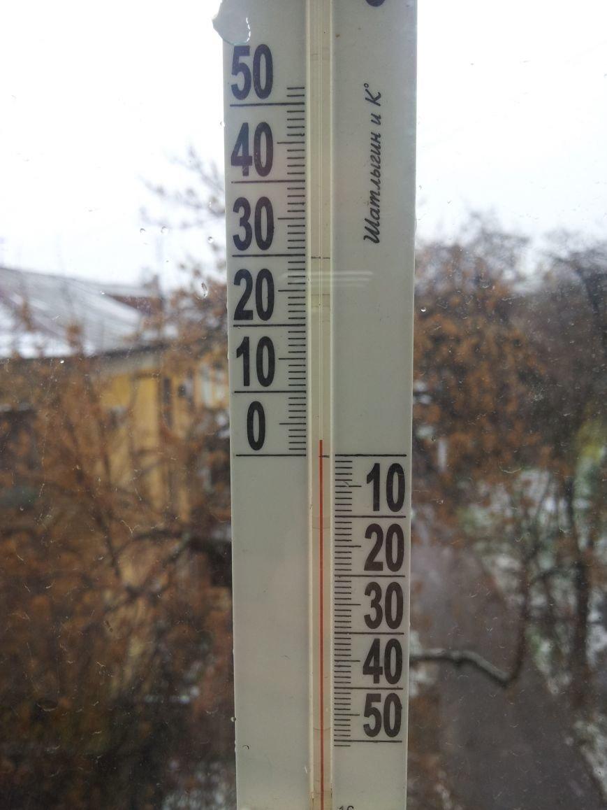 Апрельский снег пришёл в Краматорск (ФОТОФАКТ), фото-2