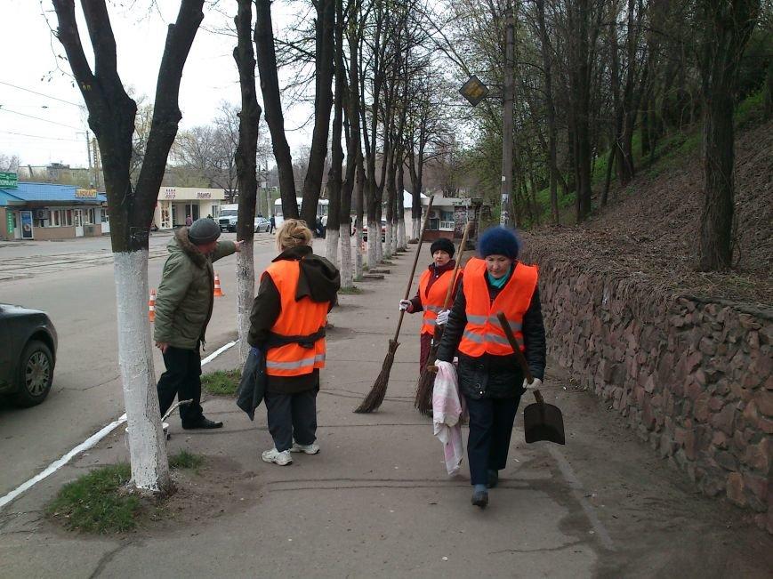 Субботник в Днепродзержинске, фото-1