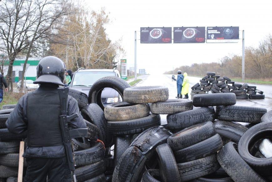Один из блокпостов Краматорска на дороге в сторону Славянска (ФОТО, ВИДЕО), фото-2