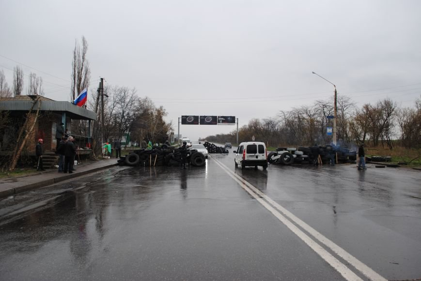 Один из блокпостов Краматорска на дороге в сторону Славянска (ФОТО, ВИДЕО), фото-8