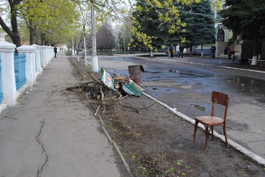 Краматорский горотдел освобождён (ФОТО, ВИДЕО), фото-2