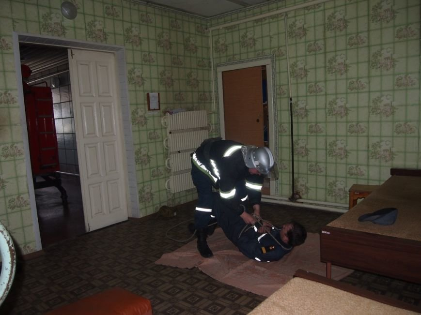 В Днепродзержинске проверено боевую готовность спасателей, фото-1