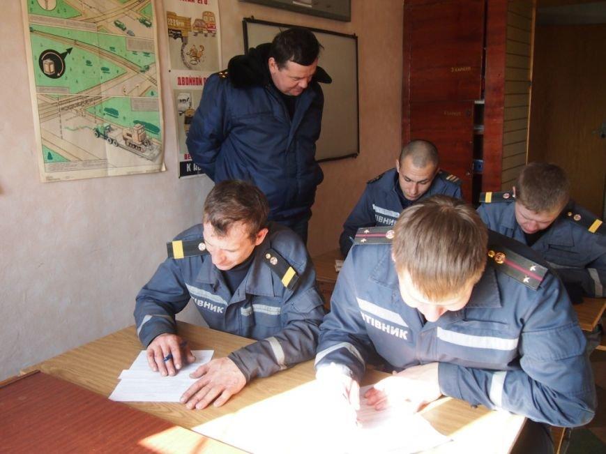В Днепродзержинске проверено боевую готовность спасателей, фото-4