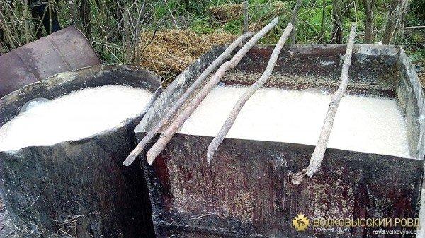 «Самогонный» мини-завод уничтожен в Волковысском районе (фото), фото-3