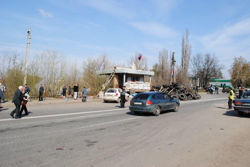 Из Краматорска в сторону Славянска проследовала колонна тяжелой военной техники (ФОТО, ВИДЕО), фото-23