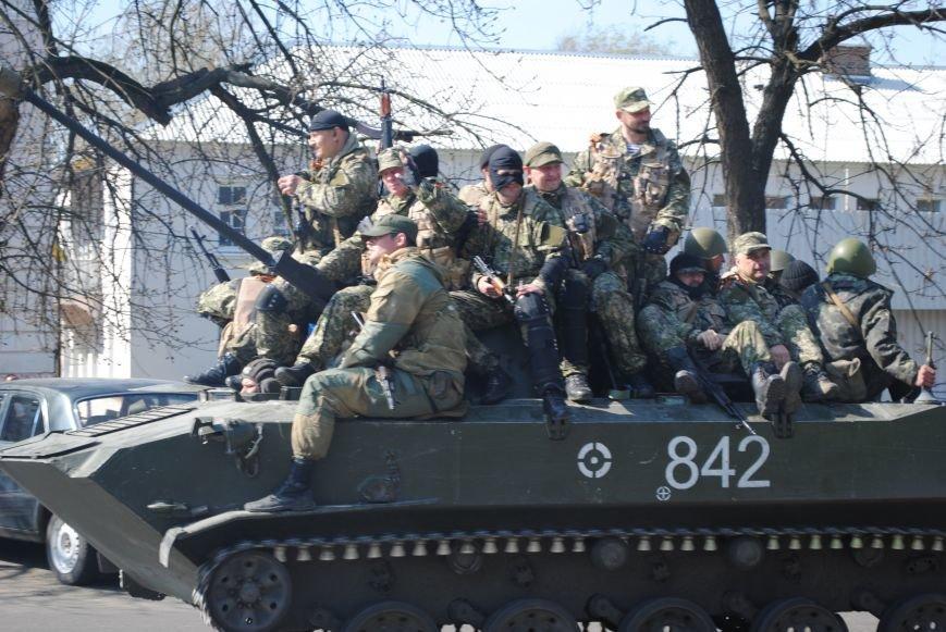 Из Краматорска в сторону Славянска проследовала колонна тяжелой военной техники (ФОТО, ВИДЕО), фото-7