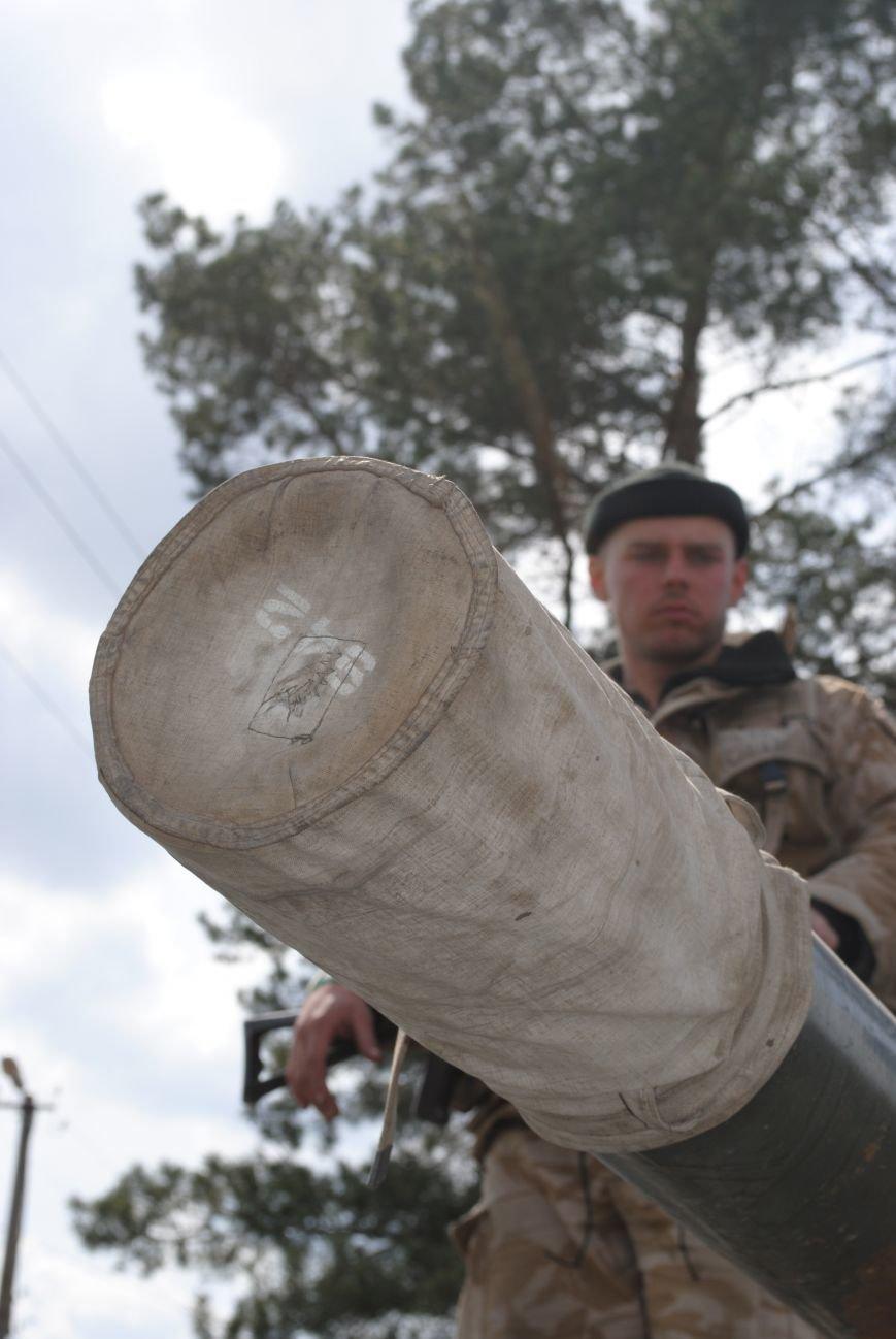 15 БТР с украинской армией в Краматорске переезд на Пчелкино, фото-17