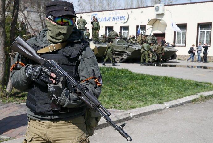 Краматорск, 16 апреля 2014. Фото Reuters