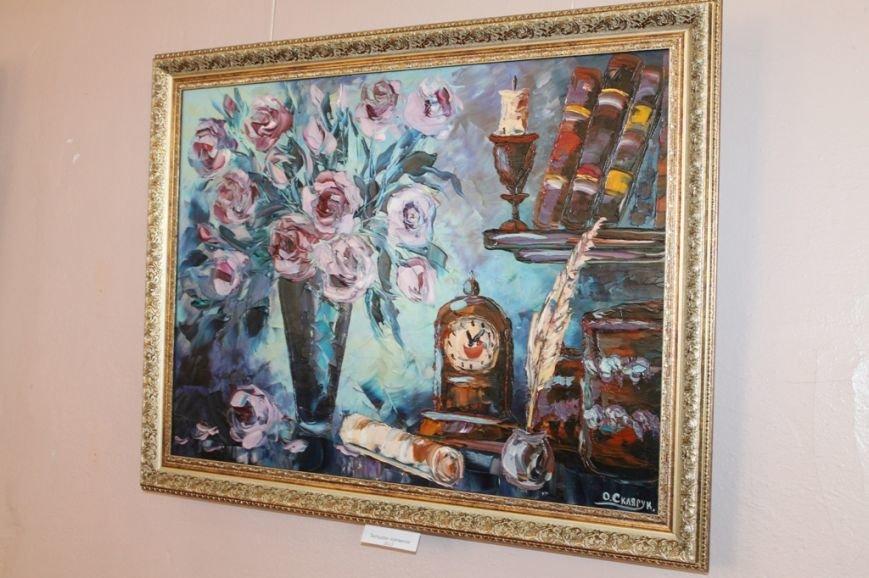 В Артемовском краеведческом музее выставляют «Цветы весны», фото-5