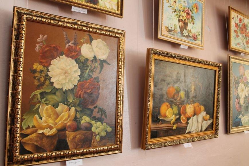 В Артемовском краеведческом музее выставляют «Цветы весны», фото-4