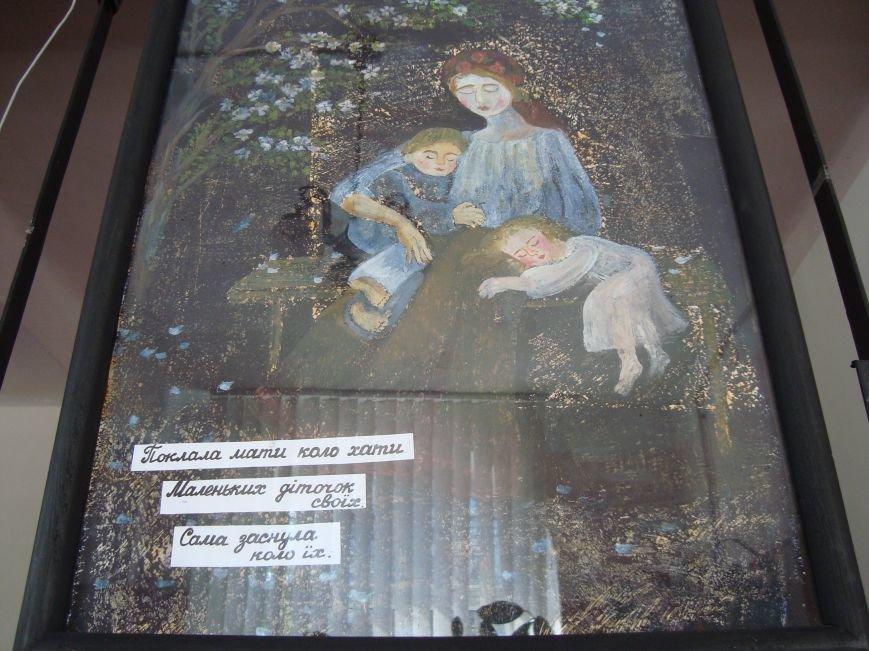 В Днепродзержинской центральной библиотеке звучала лунная соната и стихи Т.Г. Шевченко, фото-7