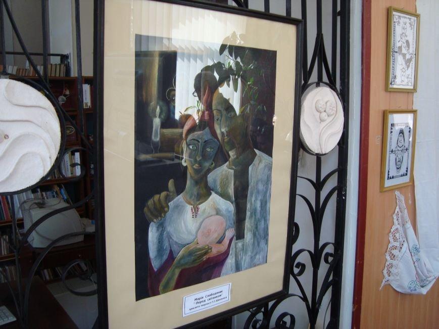 В Днепродзержинской центральной библиотеке звучала лунная соната и стихи Т.Г. Шевченко, фото-9