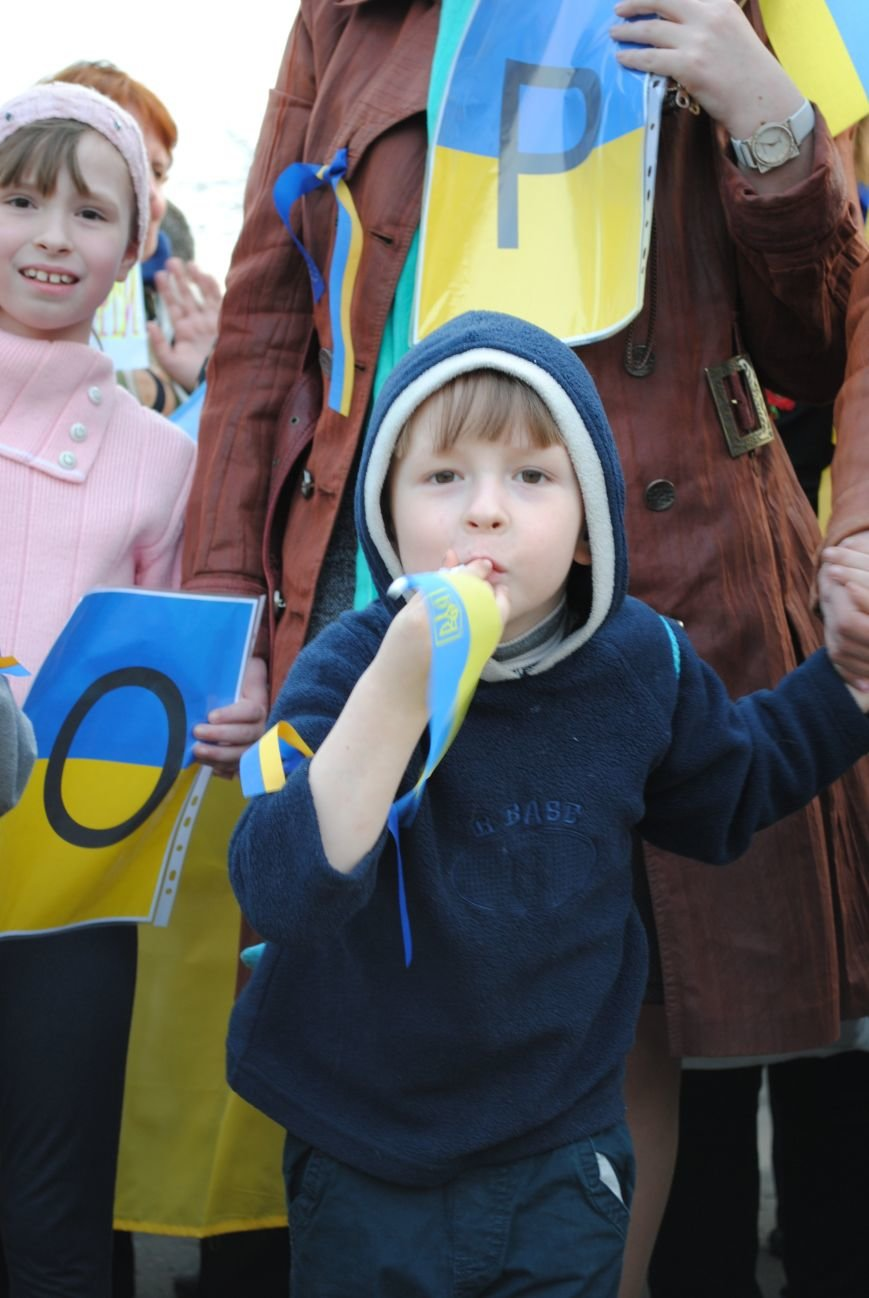 Митинг в Краматорске за «Единую Украину» (ФОТО, ВИДЕО), фото-8