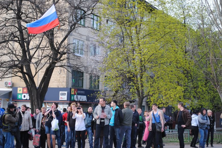 Митинг в Краматорске за «Единую Украину» (ФОТО, ВИДЕО), фото-15