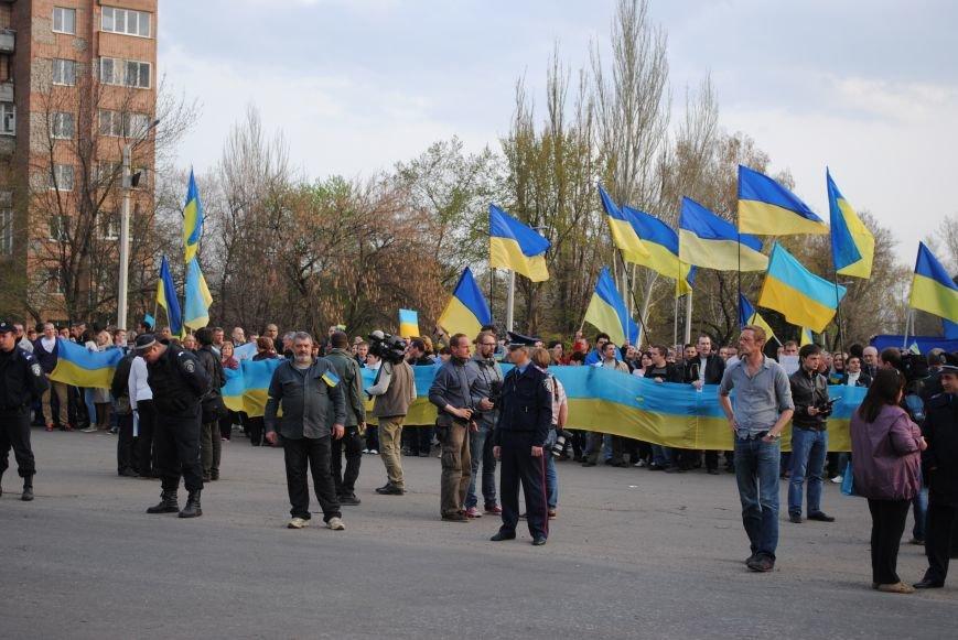Митинг в Краматорске за «Единую Украину» (ФОТО, ВИДЕО), фото-2