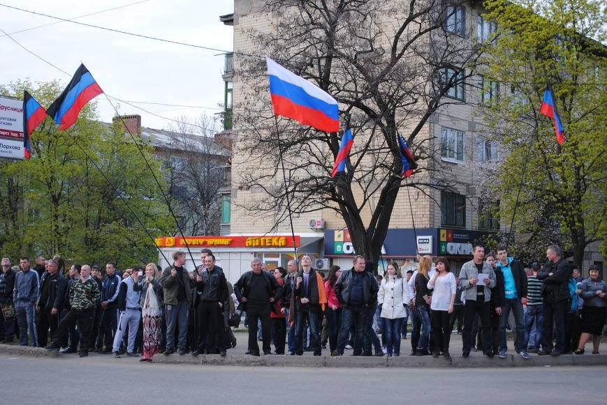 Митинг в Краматорске за «Единую Украину» (ФОТО, ВИДЕО), фото-16