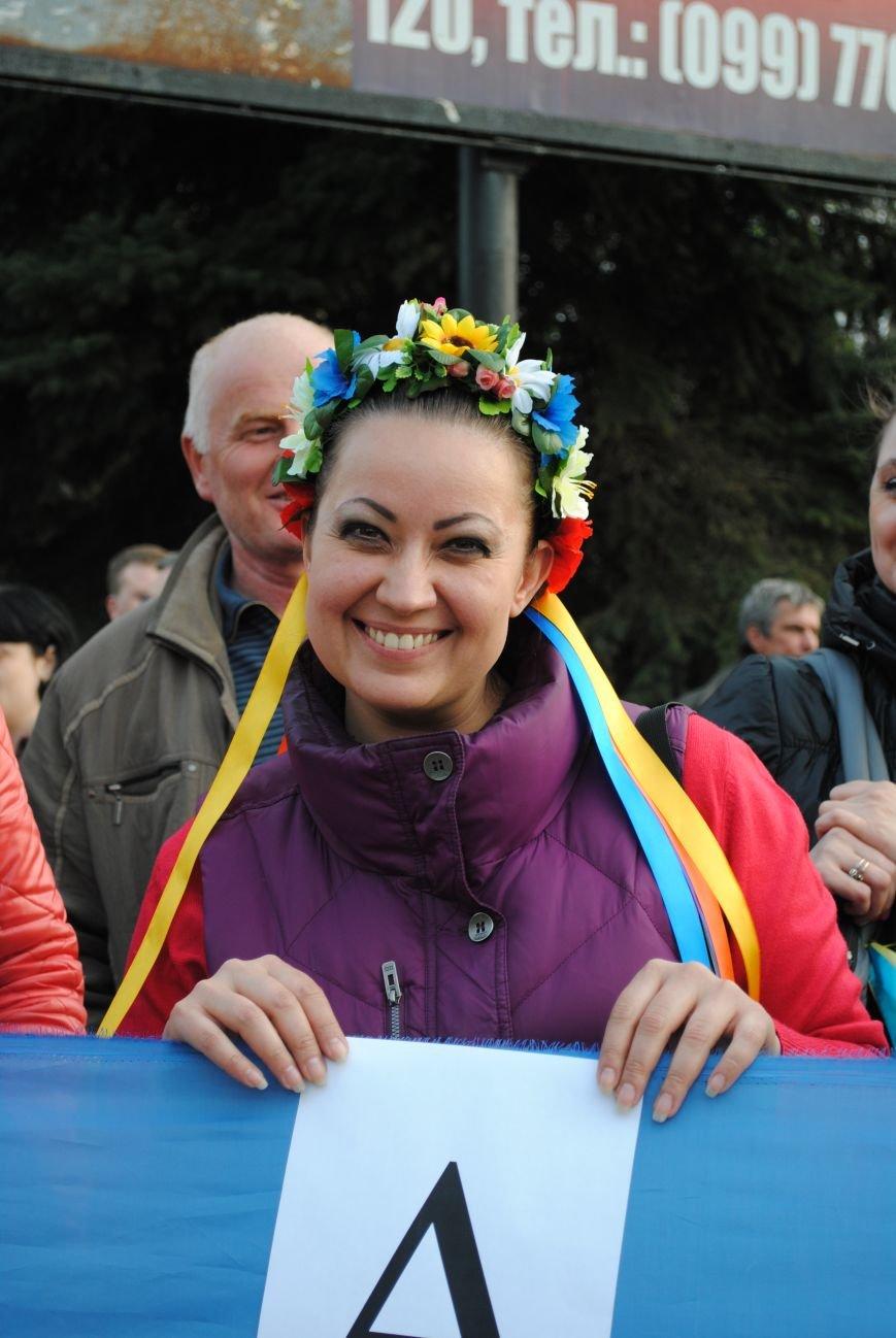 Митинг в Краматорске за «Единую Украину» (ФОТО, ВИДЕО), фото-12