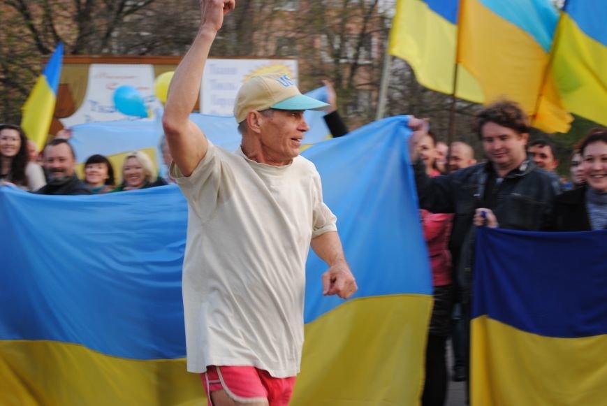 Митинг в Краматорске за «Единую Украину» (ФОТО, ВИДЕО), фото-11