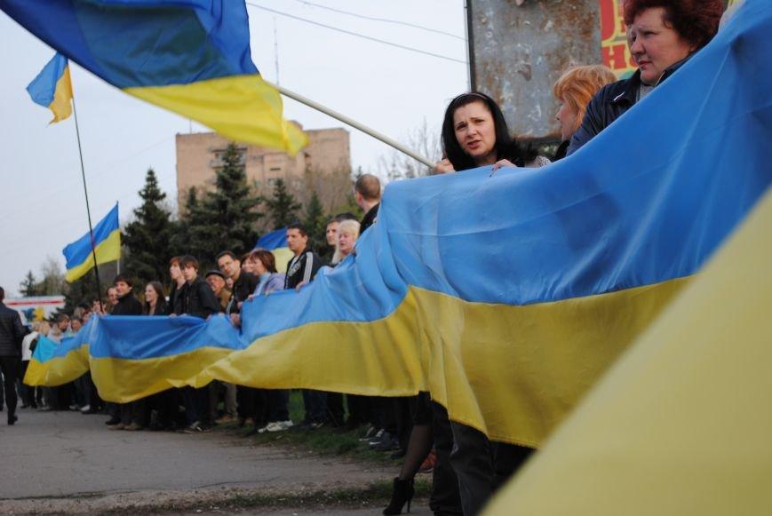 Митинг в Краматорске за «Единую Украину» (ФОТО, ВИДЕО), фото-9