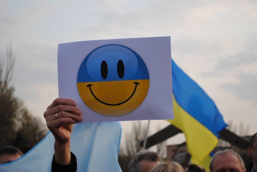 Митинг в Краматорске за «Единую Украину» (ФОТО, ВИДЕО), фото-10